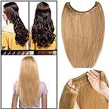 Elailite Extensiones de Pelo Natural 100% Human Hair Cabello Humano Largo 60g